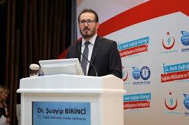 """Sağlık Bakan Yardımcısı Dr. Şuayip Birinci """"Ülkemiz için zor değil """"  demişti.."""
