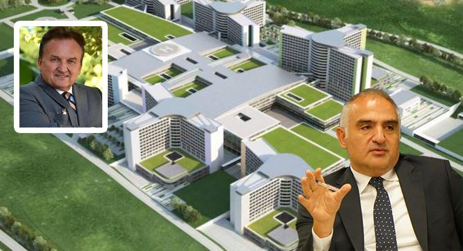 Turizm Bakanı Hastahane Altyapısını Anlattı. Baraner Video ile Müjdeyi Verdi.